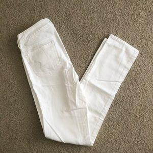American Eagle white skinny jean, 0